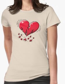 Extreme Heartquake Womens Fitted T-Shirt