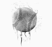 Dark Baseball One Piece - Short Sleeve