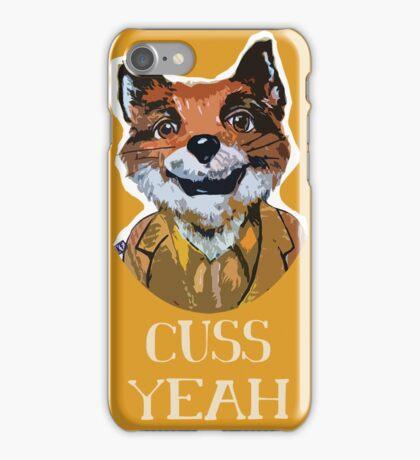 Cuss Yeah - MR FOX iPhone Case/Skin