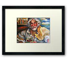 THE WILDLIFE PHOTOGRAPHER, Detail Framed Print