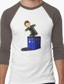 Jack in the Blue Box Men's Baseball ¾ T-Shirt