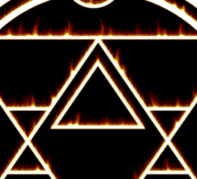 The Flame Alchemist - sticker Sticker
