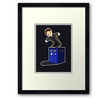 Jack in the Blue Box Framed Print