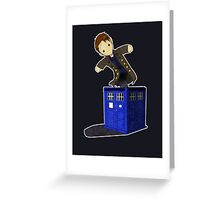 Jack in the Blue Box Greeting Card