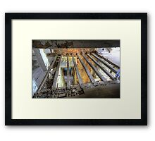 floors are overrated Framed Print