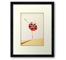 The Ballance ( Girl on fire ) Framed Print