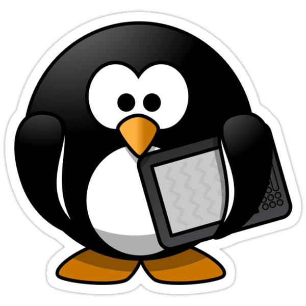 Tablet Penguin by kwg2200
