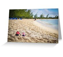 Bahamas Beach Greeting Card
