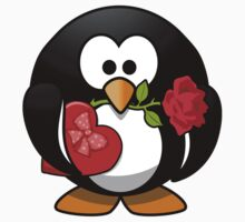 Valentine's Day Penguin T-Shirt