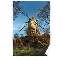 Immerath Windmill, Erkelenz, NRW, Germany Poster