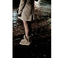 Uggs in the rain Photographic Print