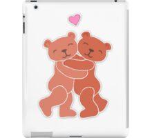 A Valentine's Day Teddy Bear Hug iPad Case/Skin