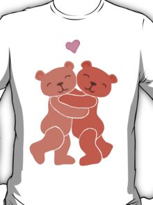 A Valentine's Day Teddy Bear Hug T-Shirt