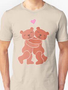 A Valentine's Day Teddy Bear Hug Unisex T-Shirt