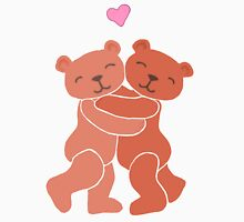 A Valentine's Day Teddy Bear Hug Womens Fitted T-Shirt