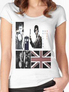 British At Best.  Women's Fitted Scoop T-Shirt