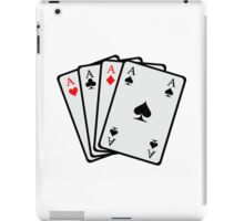 Poker cards iPad Case/Skin