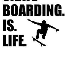 Skateboarding Is Life by kwg2200