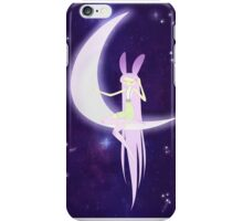 Lavender Rabbit Listens for Dreams iPhone Case/Skin