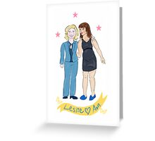 Parks & Rec - BFFs Greeting Card