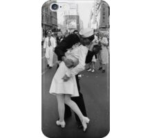 The kiss of sailor, Alfred Eisenstaedt, 1945, iPhone Case/Skin