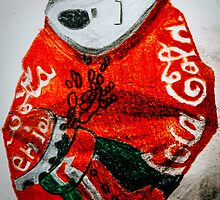 Coca Cola Can, Crushed by Gareth Cheng