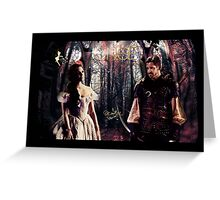 Outlaw Queen - In Another Lifetime Greeting Card
