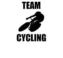 Team Cycling Photographic Print