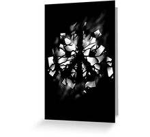 Peace Invader Greeting Card