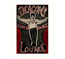 What We Do In The Shadows Deacon's Erotic Dance Lounge Art Print