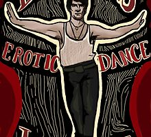 What We Do In The Shadows Deacon's Erotic Dance Lounge by SophilliaArts