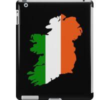 Ireland map flag iPad Case/Skin