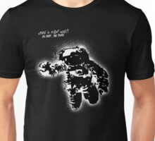 Space is right here!! All over the place Unisex T-Shirt