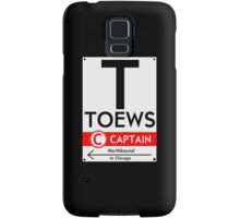 Toews Phone Case (Black)  Samsung Galaxy Case/Skin