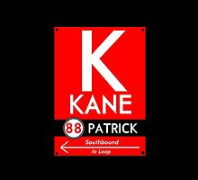 Kane Phone Case (Black) by mightymiked