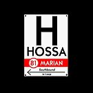 Hossa Phone Case (Black) by mightymiked