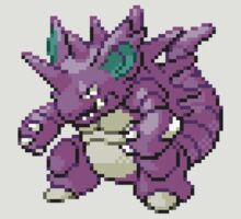 Pokemon FR/LG: 034 Nidoking by RWHTL