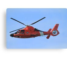 Hawaii Coast Guard Helicopter Canvas Print