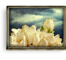 Flowers and Sky Canvas Print