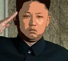 Kim Jong 64 Sticker