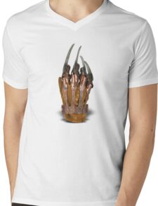 Freddy's glove Mens V-Neck T-Shirt