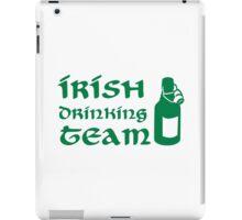Irish drinking team beer iPad Case/Skin