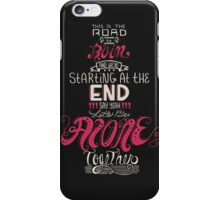 alone together iPhone Case/Skin