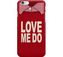 Red Love iPhone Case/Skin