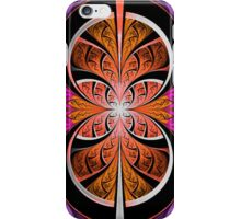 Orange In The Center iPhone Case/Skin