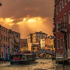 Leaving Venice by Alejandro  Tejada