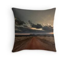 Kili in the Clouds Throw Pillow