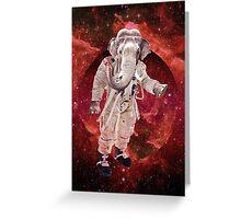 Astro elephant Greeting Card