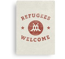 Refugees Welcome! Canvas Print