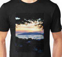 Serene Beach Scene Unisex T-Shirt